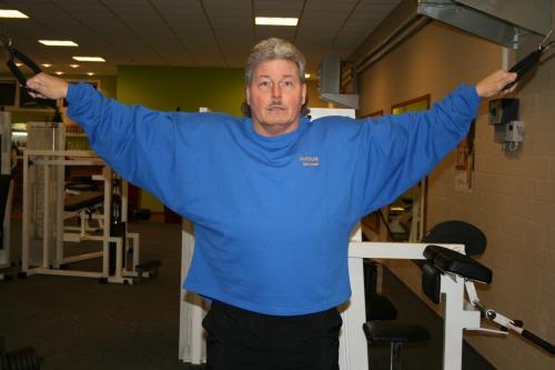 Big Sweater mit Rückendruck