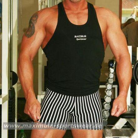 Hot Pants/Shorts mit Streifen