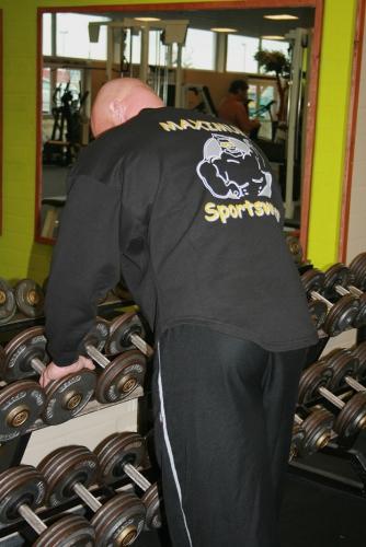 Sweatshirt mit Rückendruck