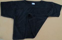Frottee Big Shirt ohne Aufdruck