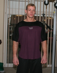 T-Shirt mit Maximum Rückendruck