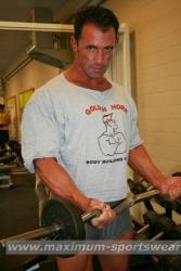 T-Shirt Bodybuilder mit Frontdruck