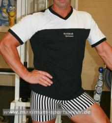 T-Shirt mit V-Ausschnitt Maximum Sportswear