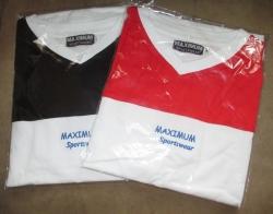 2 Stck. T-Shirt mit V-Ausschnitt Maximum Sportswear  ANGEBOT
