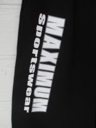 Bodyhose mit Beindruck Weiß/Grau