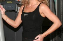 Fitnesstop mit Sport-BH