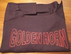 Trainingsshirt mit großem Frontstick Golden Horn