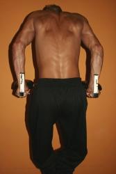Bodyhose Schwarz leichtes Material